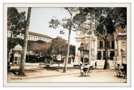 SÀI GÒN-Quảng trường nhà hát lớn