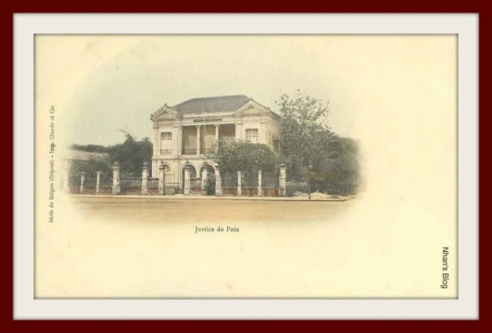 SÀI GÒN-Tòa hòa giải trên đường Charner (đường Nguyễn Huệ)