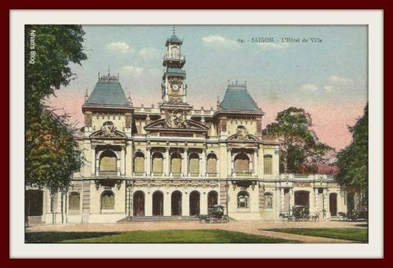 SÀI GÒN-Tòa thị chính Sài Gòn