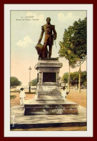 SÀI GÒN-Tượng đài Francis Garnier