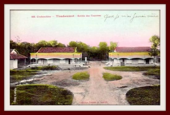 THỦI DẦU MỘT-Doanh trại lính Pháp