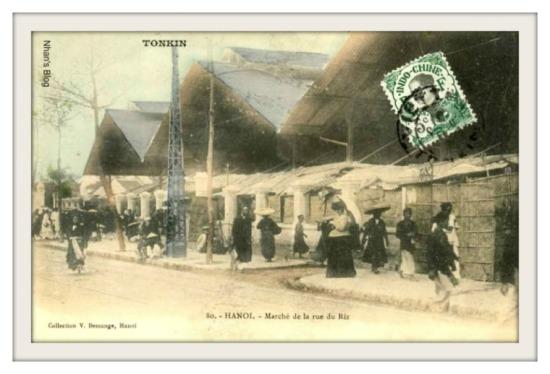 001.Chợ Đồng Xuân