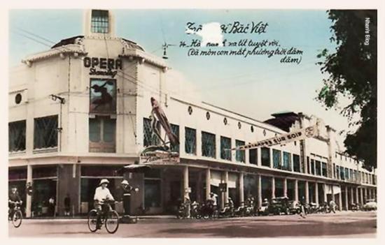 014.Một trong loạt bưu thiếp Trông vời Bắc Việt  phát hành sau hiệp định Geneve