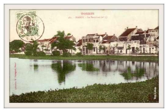 017.Hồ Hoàn Kiếm- Đểm gặp nhau giữa phố Hàng Dầu và phố Đinh Tiên Hoàng
