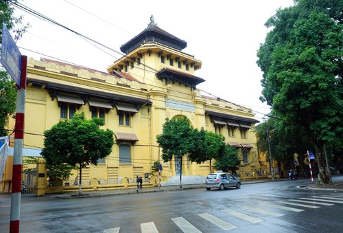ĐH Tổng hợp Hà Nội cũng là một công trình kiến trúc Pháp tiêu biểu tại thủ đô-Ảnh Ngọc Thắng
