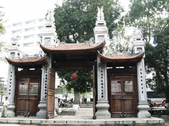cổng đền Voi Phục hiện nay