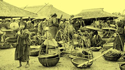 Chợ ngoại thành Hà Nội