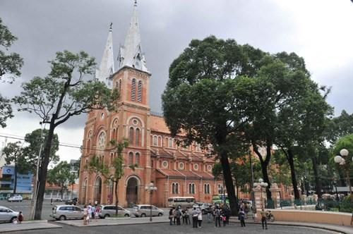 Nhà thờ Đức Bà, TP.HCM - Ảnh D.Đ.M
