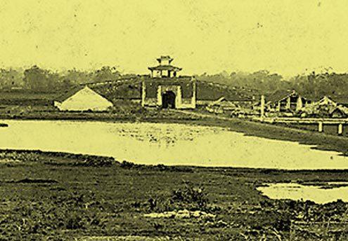008.Cửa Tây Nam Hoàng Thành