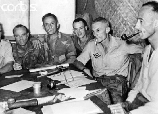 Điện Biên Phủ tháng Năm, 1954. Ảnh: Bettmann/CORBIS