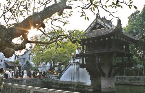 08.Chùa Một cột (Chùa Diên Hựu), thành phố Hà Nội.
