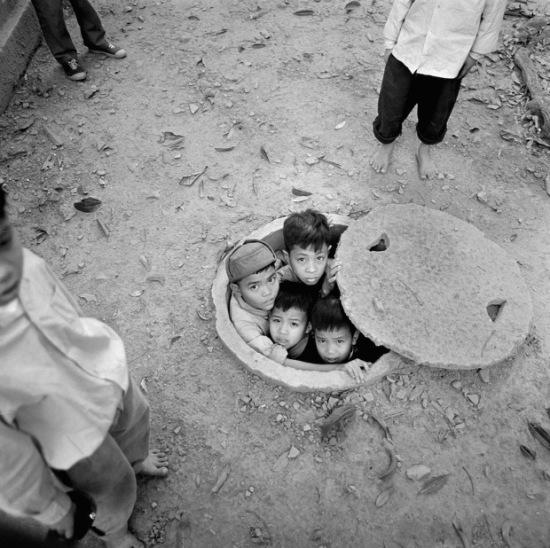 Miền Bắc Việt Nam 1972. Ảnh: Thomas Billhardt