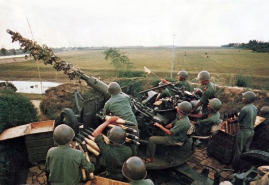 Hải Phòng 1972 – Trung đội cao xạ số 5.