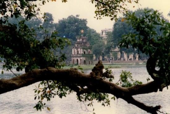 Tháp Rùa – Hà Nội 1990