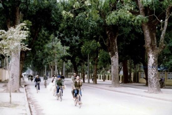 Phố Hoàng Diệu – Hà Nội 1990