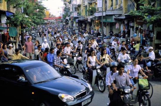 Hà Nội, 2004. Ảnh: David Alan Harvey