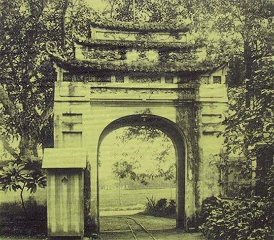 Cổng vào Hoàng Thành phía Nam