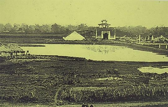 Cửa Tây Nam Hoàng Thành