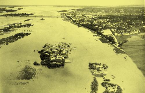 Ảnh lũ Hà Nội 1926