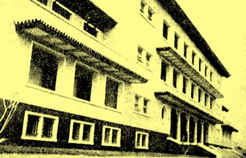 Khu nhà Đông Dương học xá