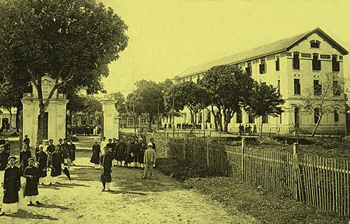 Trường Bưởi (trường Bảo hộ – Lycée du Protectorat)