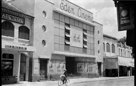 Rạp Eden k.1950, thay thế rạp phong cách Tân Cổ điển Pháp theo hướng Beaux Arts (cuối TK 19 đầu TK 20). Nay là rạp Công Nhân với phong cách quay lại Tân C
