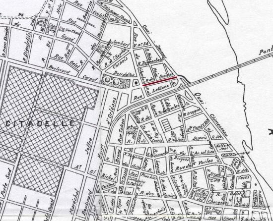 000.BẢN ĐỒ HÀ NỘI - 1936 Hanoi Map