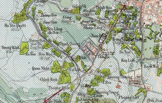 000.Bản đồ HÀNỘI 1928 - Tỷ lệ 1-25.000 - Copy