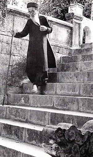 000k.Bậc đá đền Voi Phục (ảnh chụp năm 1956)_