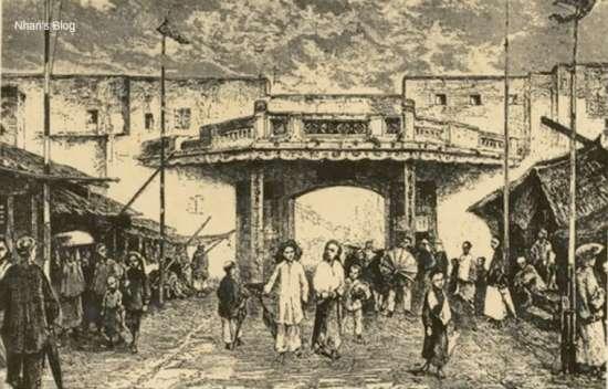 001.Cổng phố Hàng Ngang
