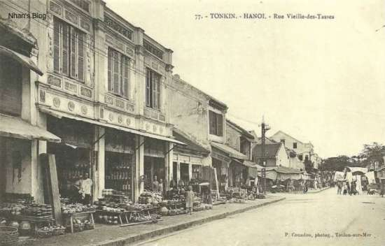 Phố Bát Đàn (Rue Vieille-des-tasses)