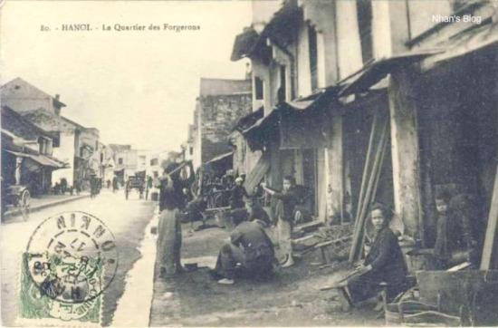Phố Lò Rèn năm 1917