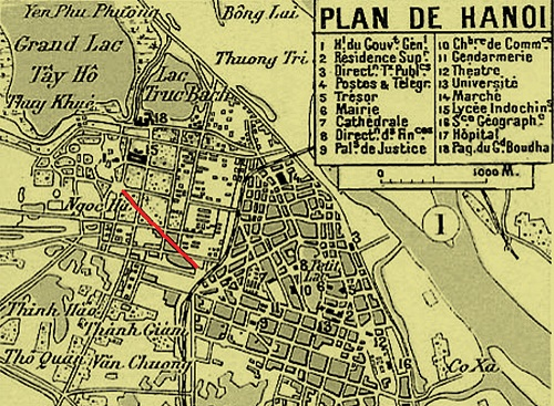 002.Đường Điện Biên Phủ trên bản đồ Hà Nội năm 1902 (2)