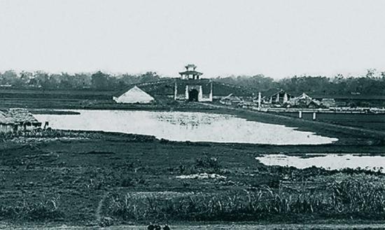 002.Mặt trong thành Hà Nội (thành xây bằng gạch)