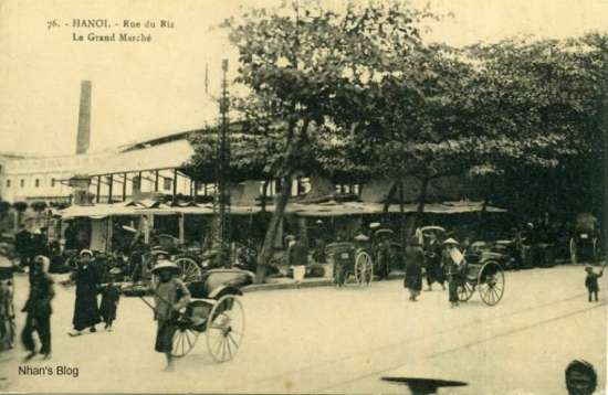 Ngã tư Hàng Khoai - Đồng Xuân