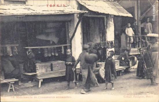 Cửa hàng phố Hàng Da.