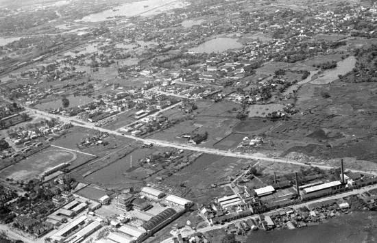 003-1950 Aerial view of HANOI 1c_o