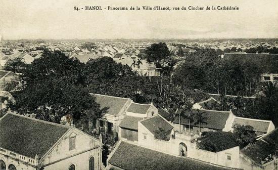 003.Toàn cảnh phố cổ Hà Nội nhìn từ tháp chuông Nhà thờ Lớn