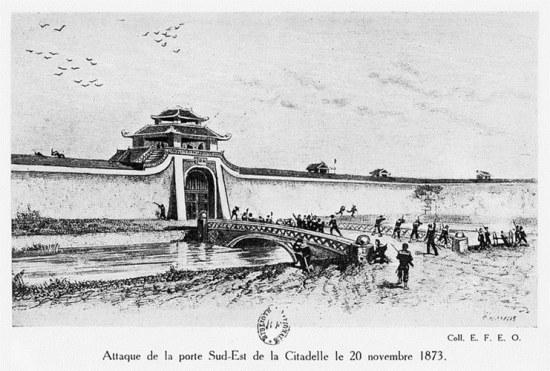 003.Trận tấn công cửa Đông Nam thành Hà Nội ngày 20-11-1873.