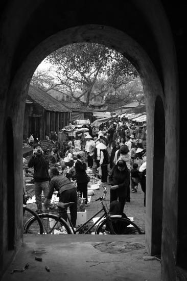 Chợ lang Chuông, Hà Tây