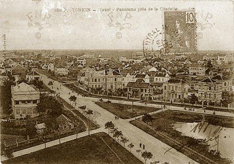 005.Giao cắt Hoàng Diệu - Điện Biên Phủ - Trần Phú ngày nay chụp năm 1907