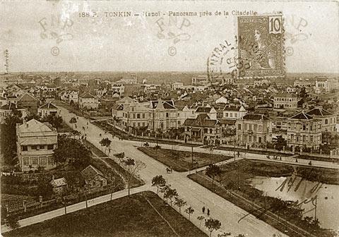 005b.Đường Điện Biên Phủ-Trần Phú ngày nay chụp năm 1907
