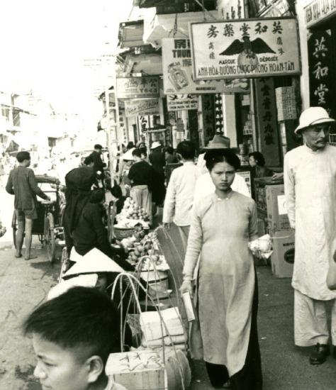 006.Cảnh đường phố Hà Nội.