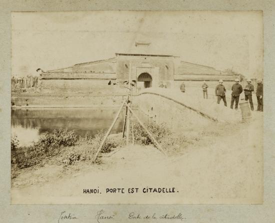 006. Hà Nội, Cổng Đại Nội năm 1885