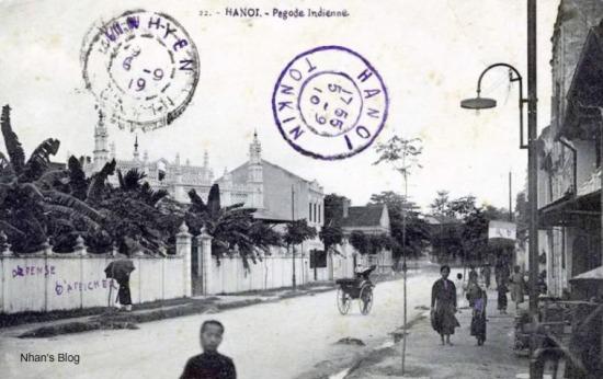 Nhà thờ đạo Hồi  tại số 12 Hàng Lược