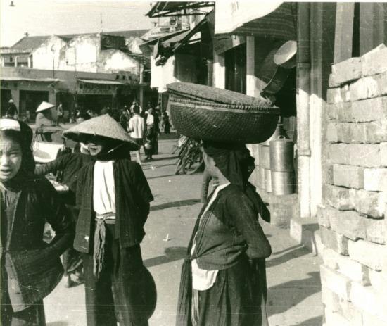 007.Cảnh đường phố Hà Nội.