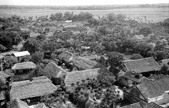 009-1950 Aerial view of HANOI