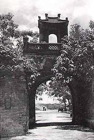 009c.Cửa Ô Quan Chưởng (ảnh chụp năm 1940)_