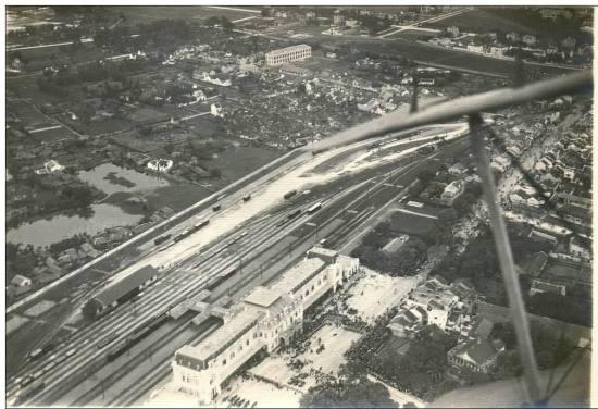010.Ga Hàng Cỏ xưa - giới hạn khu phố cũ phía Tây
