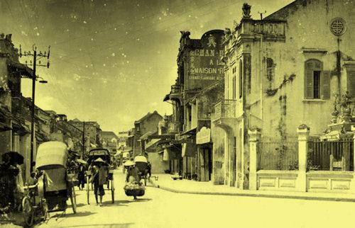 010.Nhà cổ, phố cổ thời Pháp thuộc